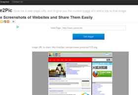 Site2Pic,免费在线生成网页快照