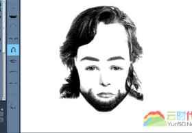 Pimp The Face:有趣好玩的在线人物素描拼图云应用