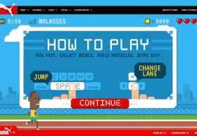 Run Puma Run:彪马发布的HTML5游戏