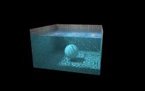 HTML5魅力,水池里的球
