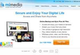 MiMedia免费云存储 – 免费提供7GB云存储空间