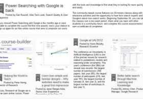 [视频]Google推在线开放式教程