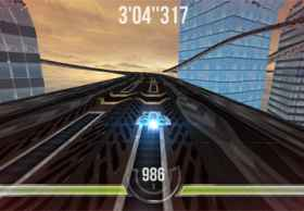 HTML5游戏:HexGL未来空中竞赛飞车