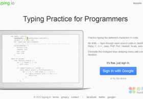 Typing Practice:在线练习敲代码,程序员专用!
