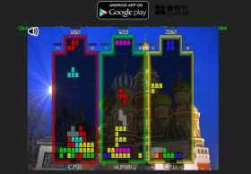 HTML5游戏:TC3rdStrike多人俄罗斯方块
