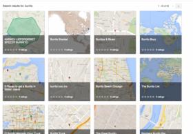 Google Maps Gallery开始向个人用户开放地图定制端口