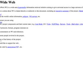 全球首个网站诞生25周年