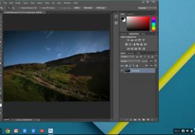 Photoshop for Chrome OS是基于云端的应用