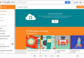 谷歌为用户开放50000首歌容量的免费云储存