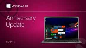 Windows 10 周年更新今日起正式开放下载