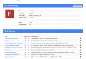 Mozilla推出免费的网站安全测试服务 代码在GitHub上开源