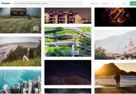 Unsplash – 免费下载商用摄影图库网站(设计师必备之一)